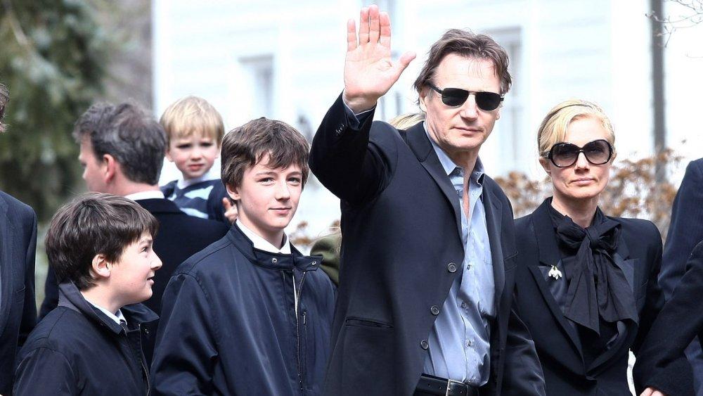 Les fils de Liam Neeson ont grandi pour être magnifiques ...