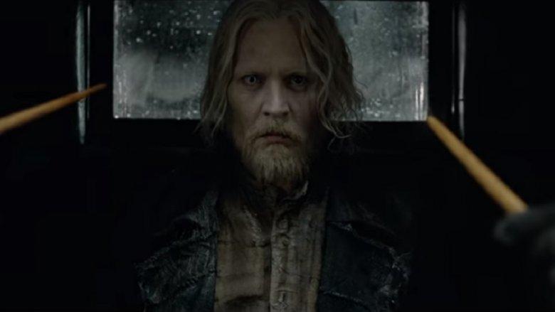 Johnny Depp comme Gellert Grindelwald