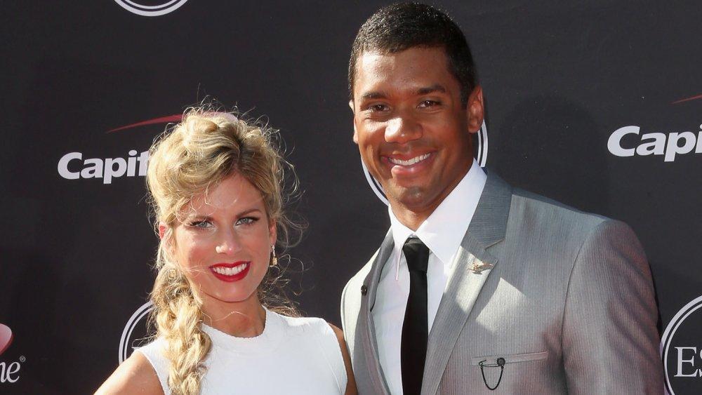 Russell Wilson avec son ex-femme Ashton Meem