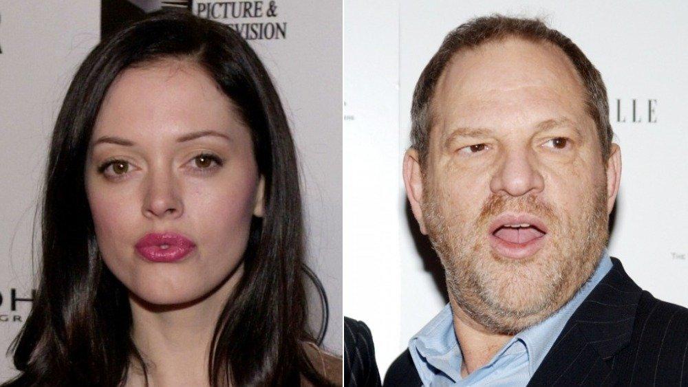 Rose McGowan, Harvey Weinstein