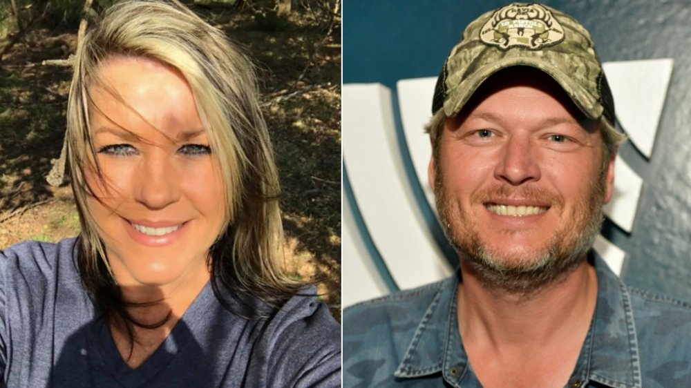 Kaynette Williams et Blake Shelton