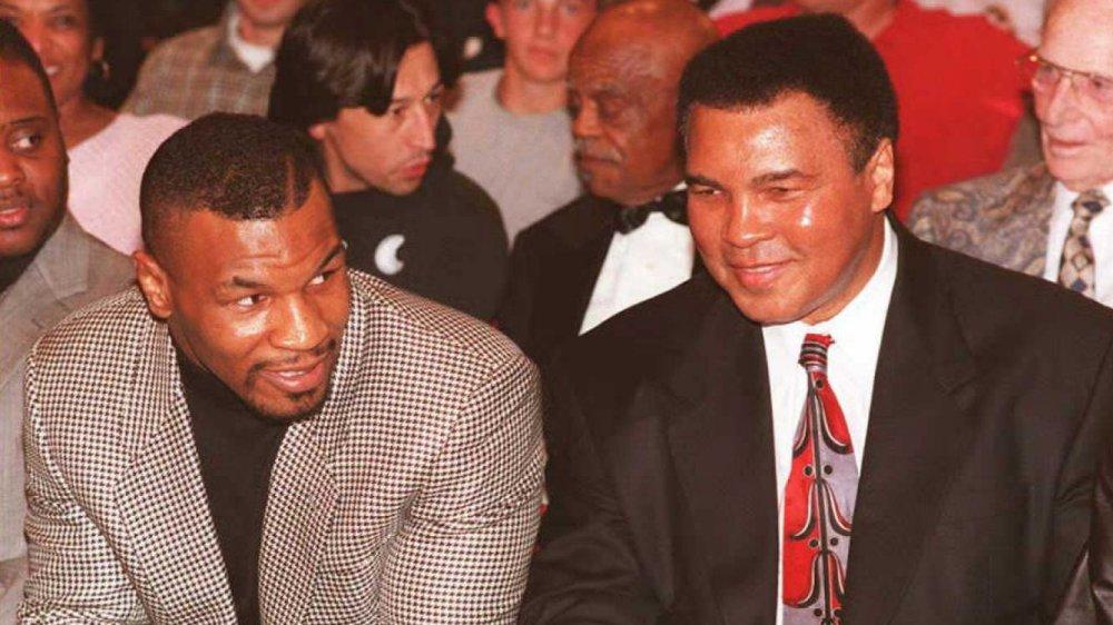 Mike Tyson et Muhammed Ali