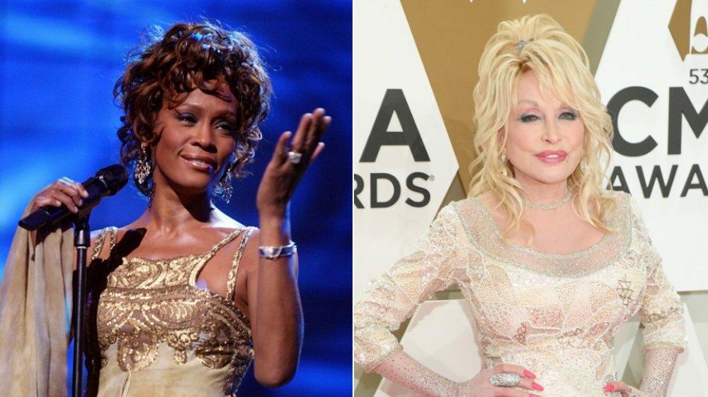 Whitney Houston et Dolly Parton