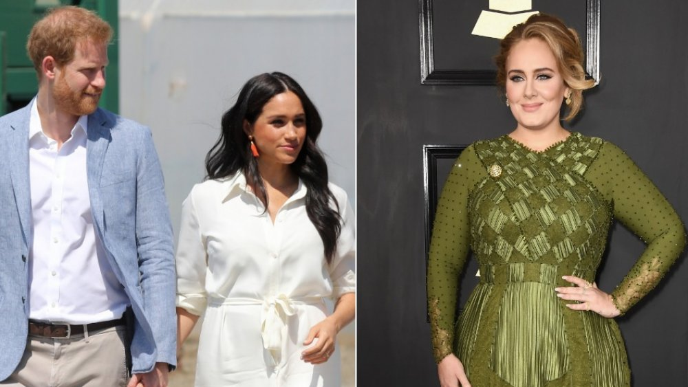 Prince Harry, Meghan Markle, Adele