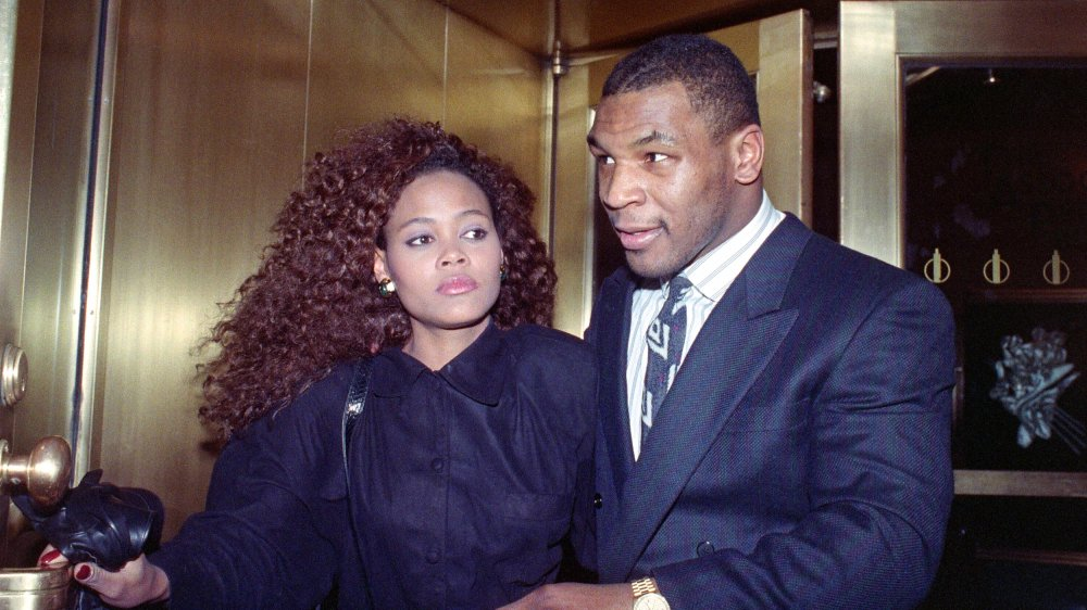 Mike Tyson et Robin Givens