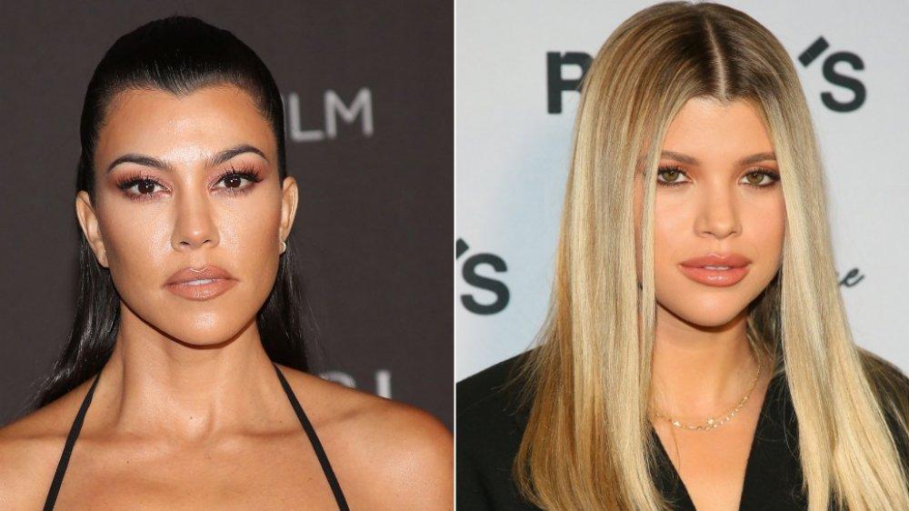 Kourtney Kardashian et Sofia Richie