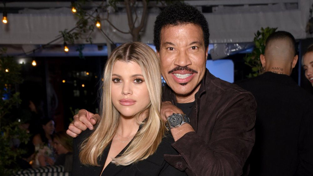 Sofia et Lionel Richie