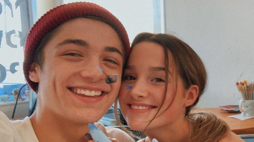 Asher Angel et Annie LeBlanc