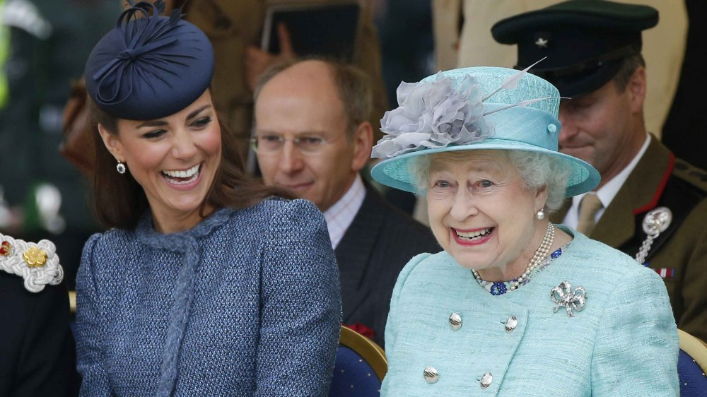 La princesse Kate et la reine Elizabeth II