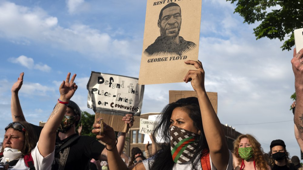 Les manifestants de Black Lives Matter