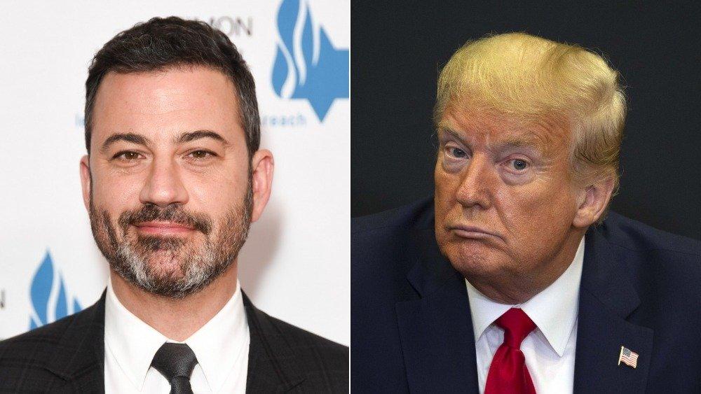 Jimmy Kimmel et Donald Trump