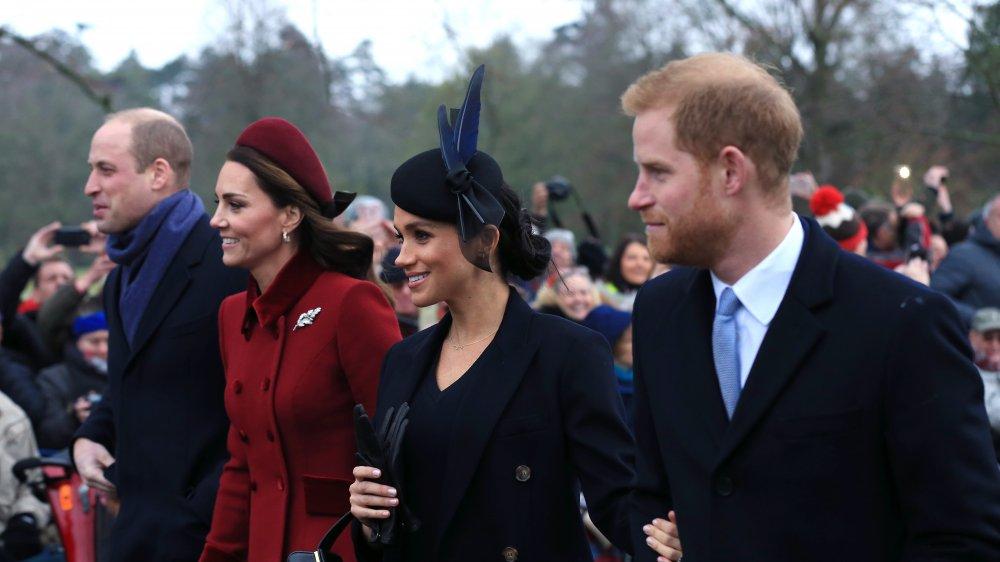 Prince William, Duchesse Kate, Meghan Markle, Prince Harry