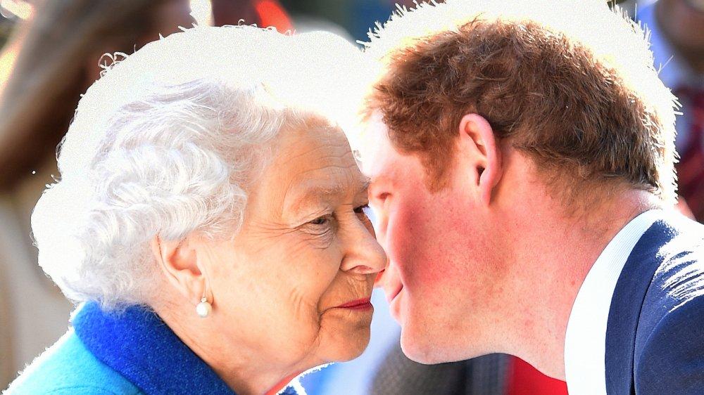 Reine Elizabeth, Prince Harry