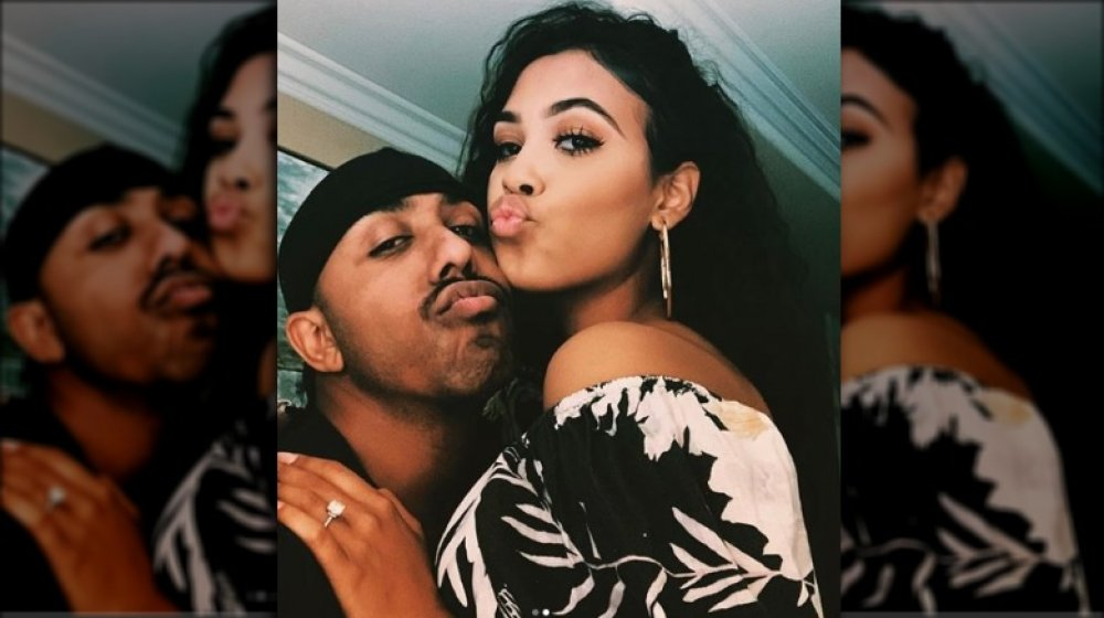 Marques Houston et Miya Dickey