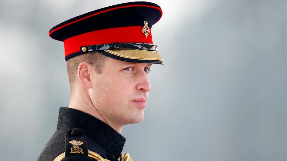 Le prince William dans son uniforme militaire royal
