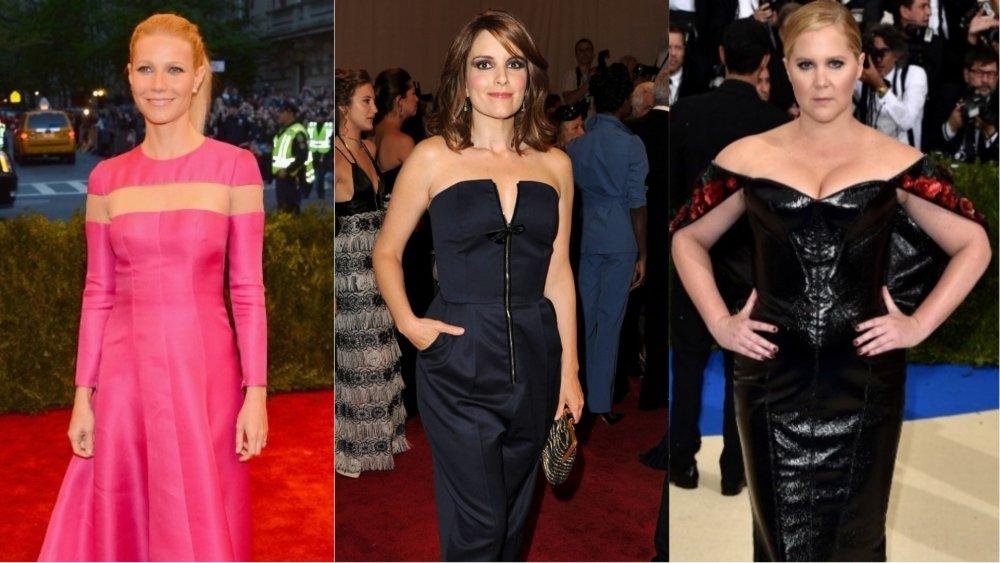 Gwyneth Paltrow, Tina Fey, Amy Schumer assistant au Met Gala
