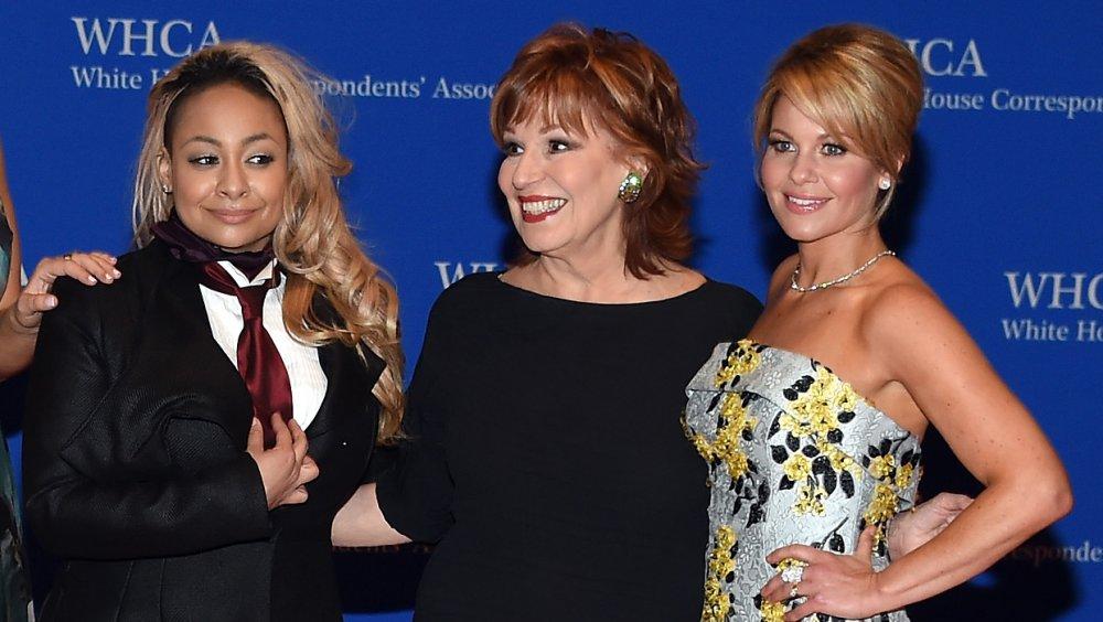 Rayven-Symoné, Joy Behar et Candace Cameron Bure au dîner de l'Association des correspondants de la Maison Blanche