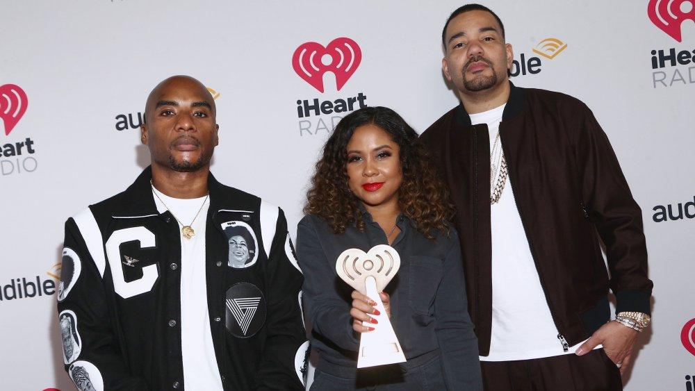 Charlamagne Tha God, Angela Yee et DJ Envy aux iHeartRadio Podcast Awards 2020