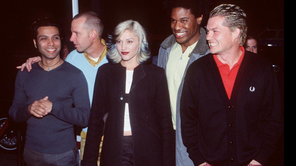 Gwen Stefani avec No Doubt dans les années 90