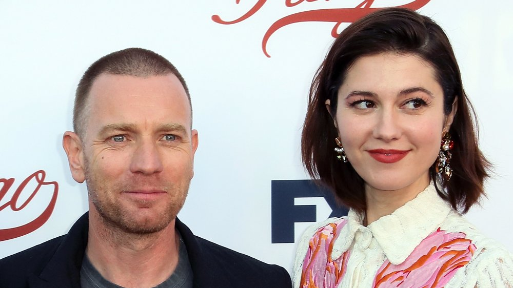 Ewan McGregor and Mary Elizabeth Winstead attending a Fargo event weeks before his 2017 separation