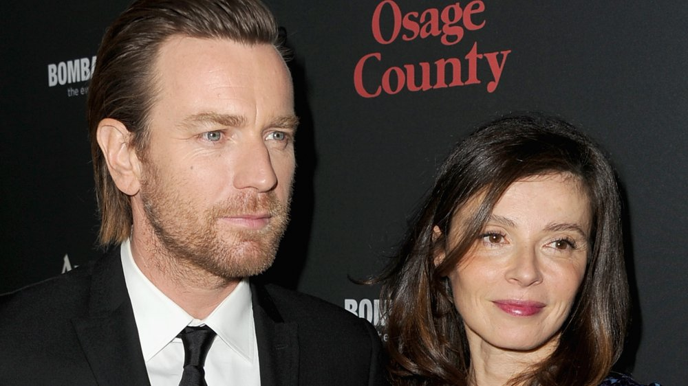 Ewan McGregor and Eve Mavrakis at the August: Osage County premiere in 2013