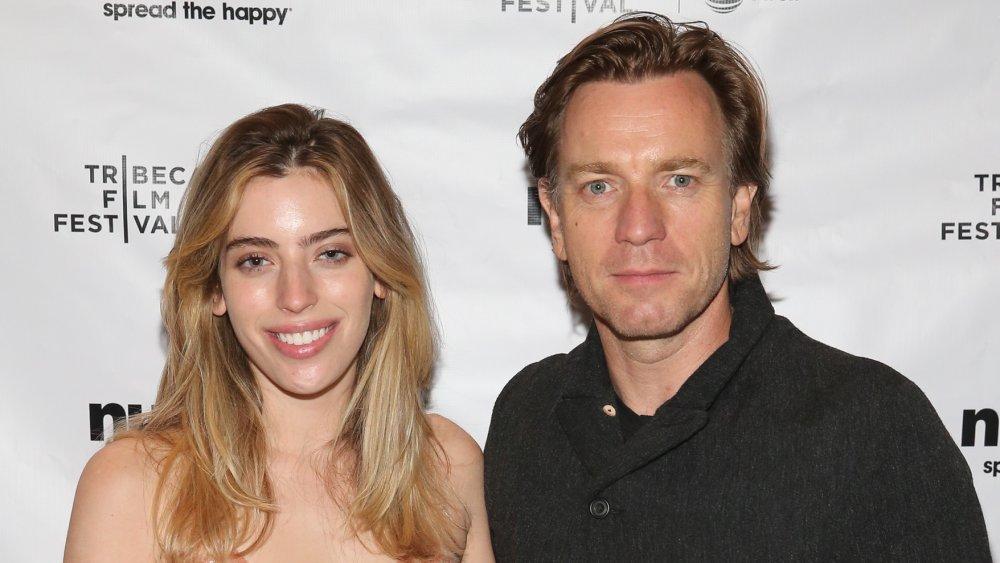Clara McGregor and Ewan McGregor at the 2018 Tribeca Film Festival