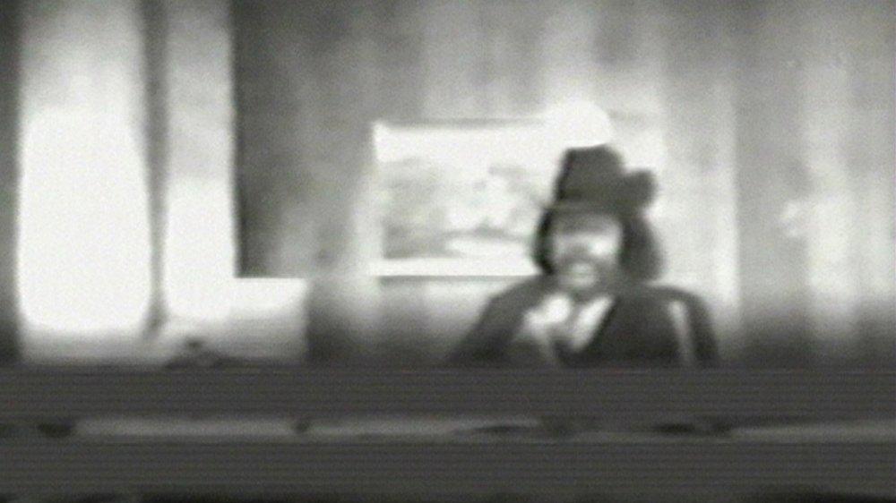 Al Sharpton dans une image tirée d'une bande de surveillance du FBI