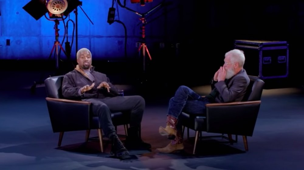 Kanye West, David Letterman sur Mon prochain invité n'a pas besoin d'être présenté