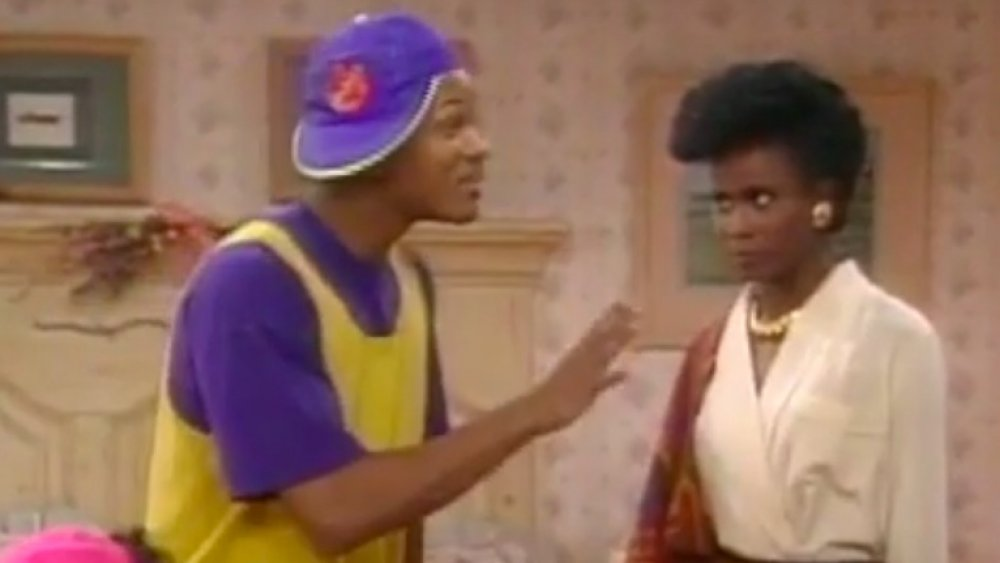 Will Smith et Janet Hubert dans Fresh Prince of Bel Air
