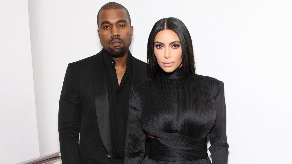 Kanye West et Kim Kardashian West au BET Honors en 2015