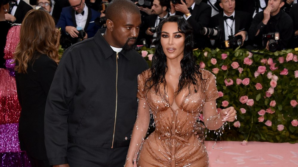 Kanye West et Kim Kardashian West au gala MET 2019