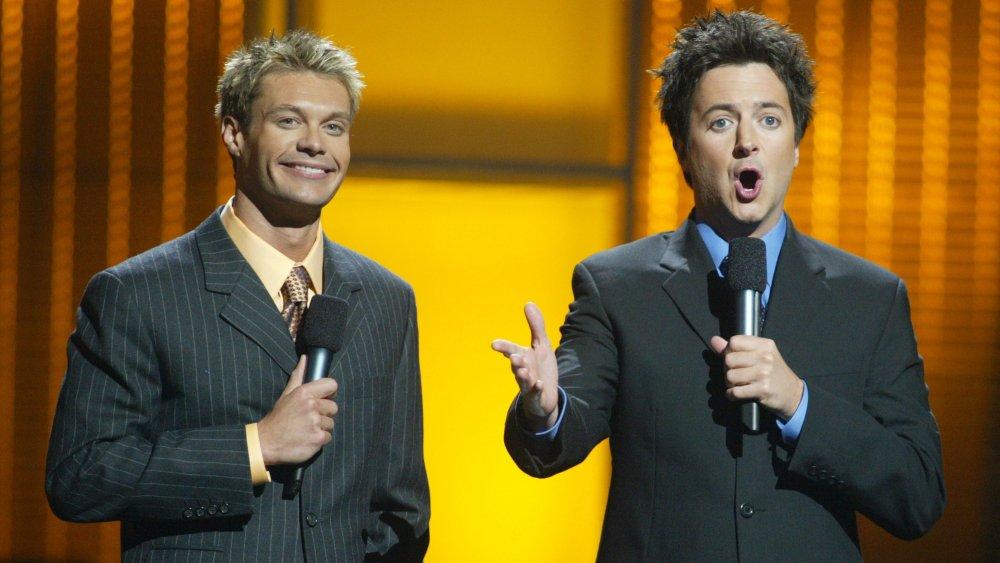 Ryan Seacrest et Brian Dunkleman co-organisent American Idol