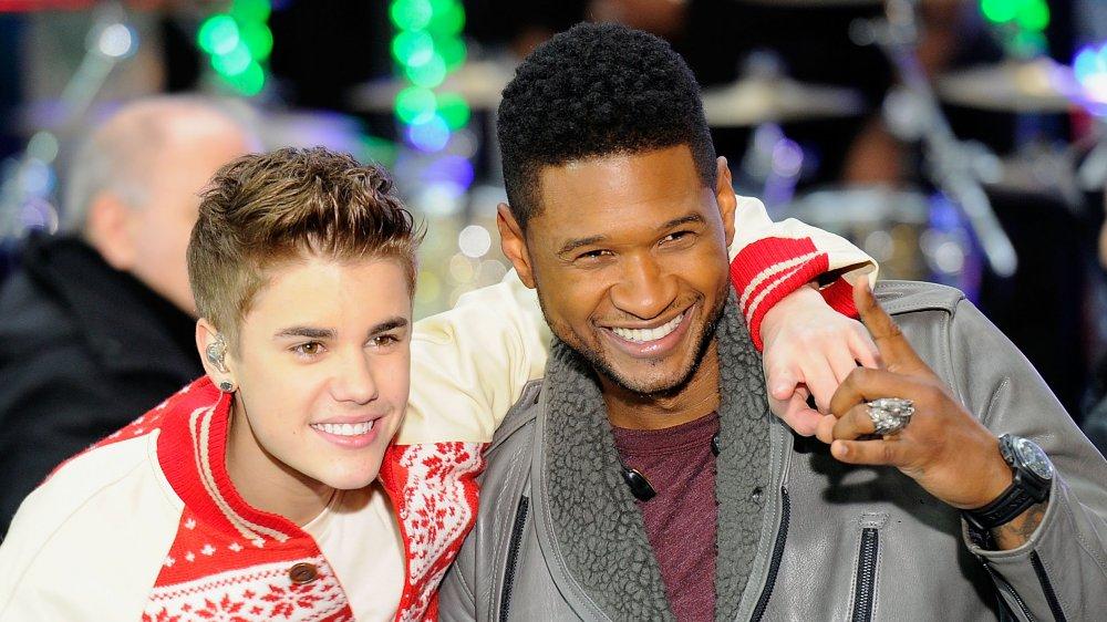 Justin Bieber et Usher