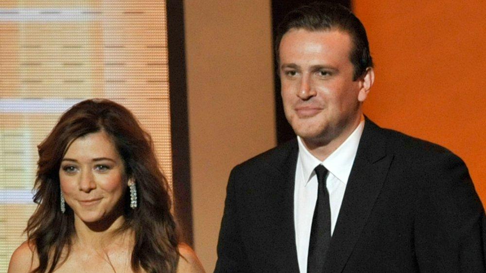 Alyson Hannigan et Jason Segel aux 61e Primetime Emmy Awards