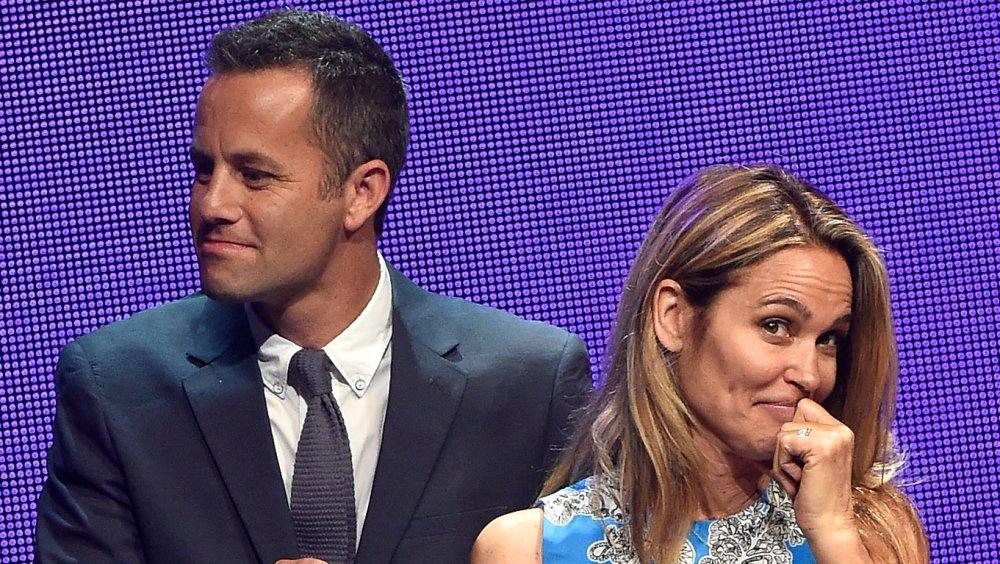 Kirk Cameron et sa femme Chelsea Noble lors de la 3e cérémonie annuelle des KLOVE Fan Awards