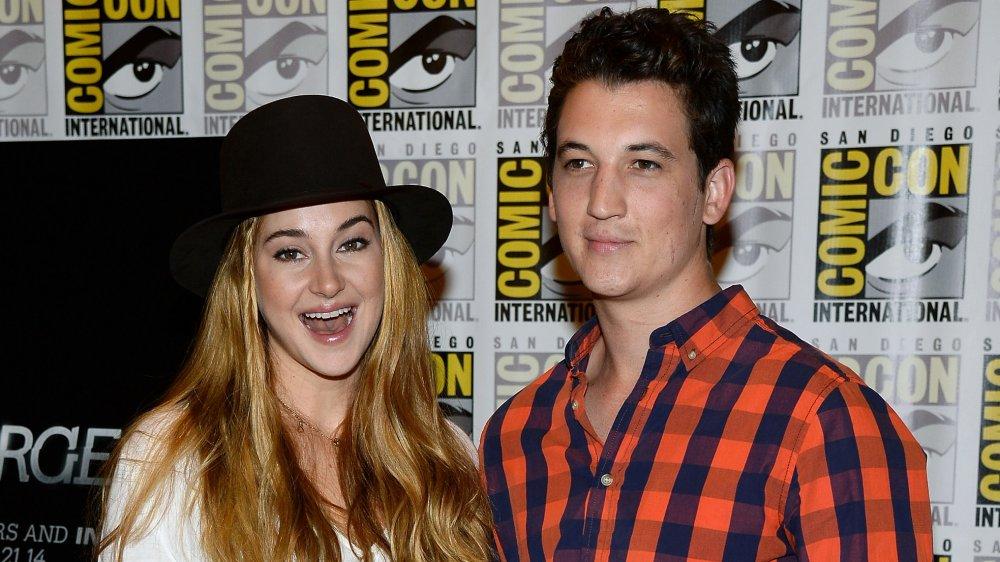 Shailene Woodley et Miles Teller au Comic-Con en 2014