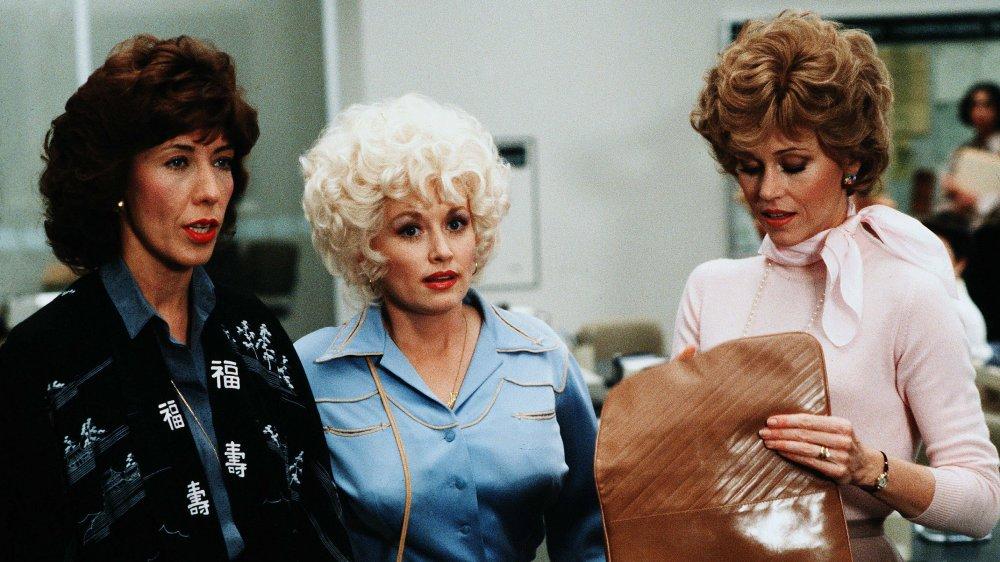 Lily Tomlin, Dolly Parton et Jane Fonda dans les années 1980 du 9 au 5
