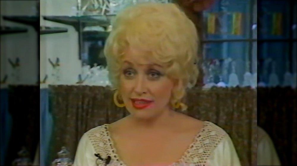Dolly Parton en parlant lors d'une interview en 1986 à 40 ans