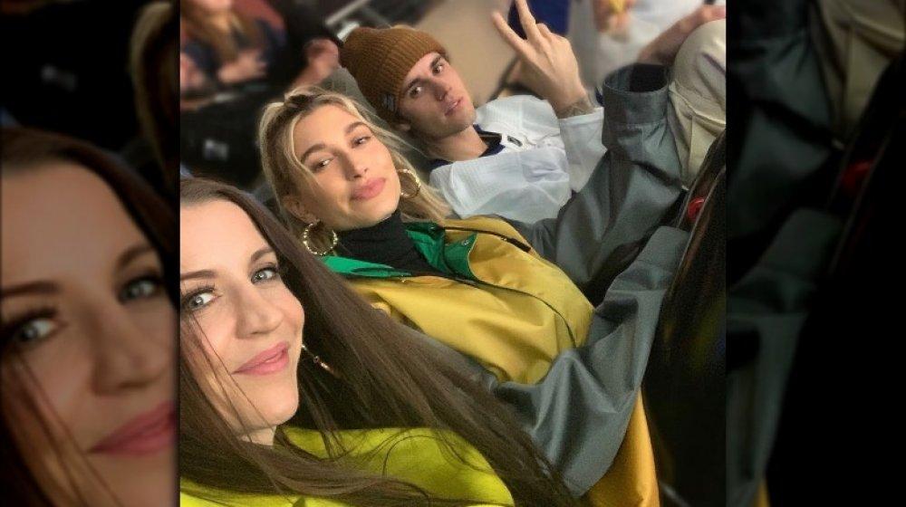 Pattie Mallette, Hailey Bieber, Justin Bieber