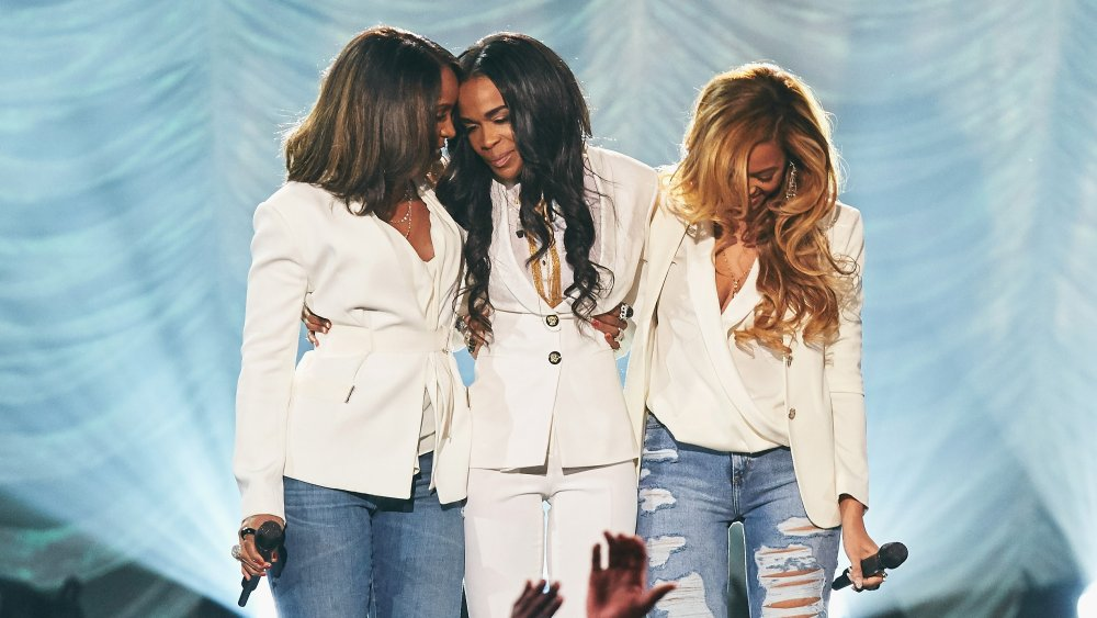 Kelly Rowland, Michelle Williams et Beyoncé Knowles Carter