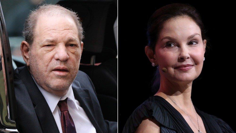 Image partagée de Harvey Weinstein et Ashley Judd