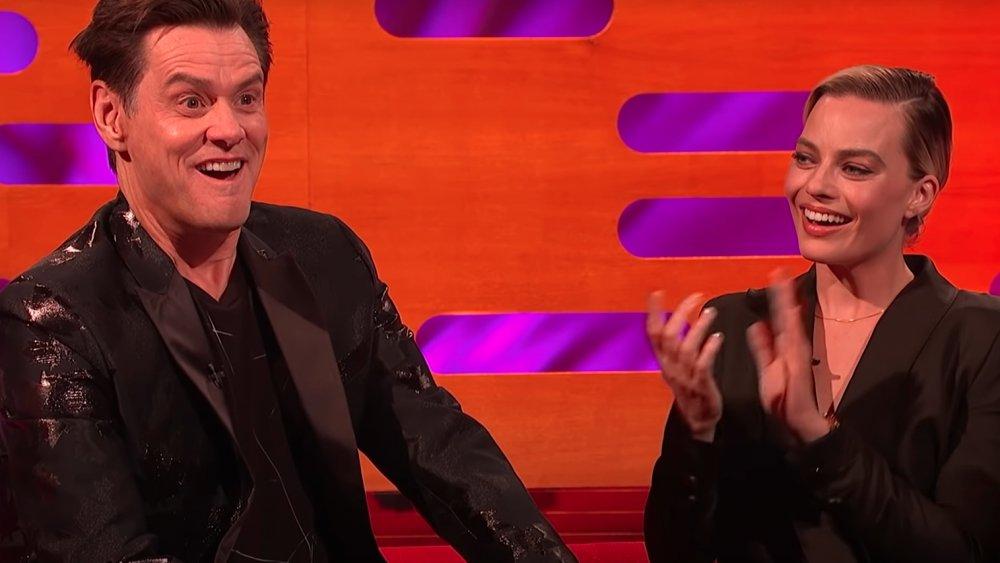 Jim Carrey et Margot Robbie dans un épisode du Graham Norton Show