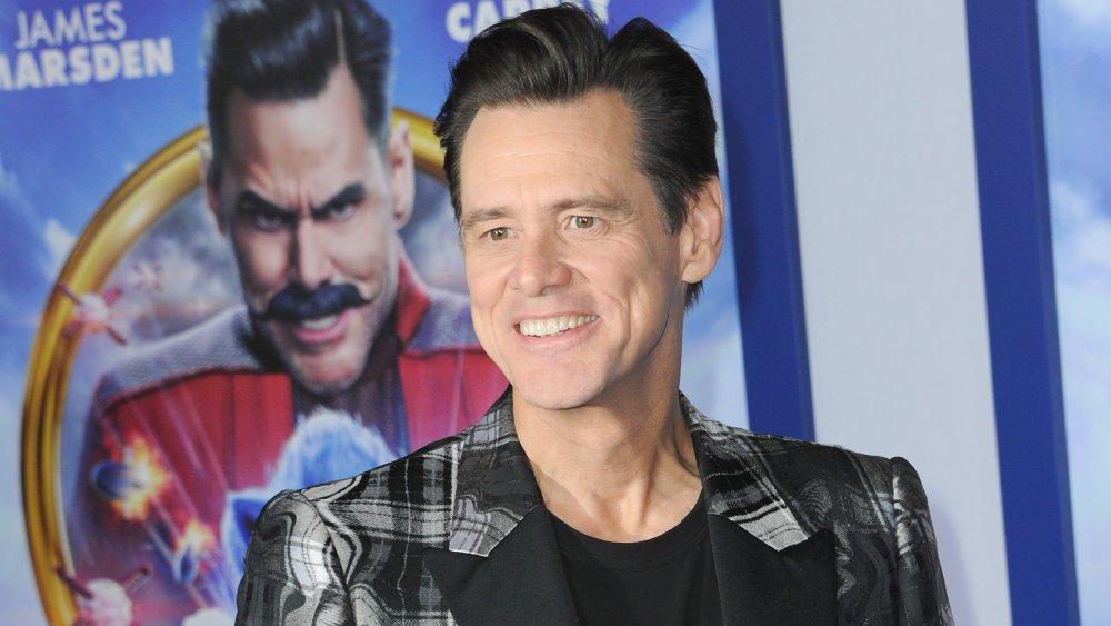 Jim Carrey à la première de Sonic The Hedgehog