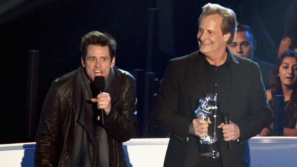 Jim Carrey et Jeff Daniels aux MTV VMA 2014