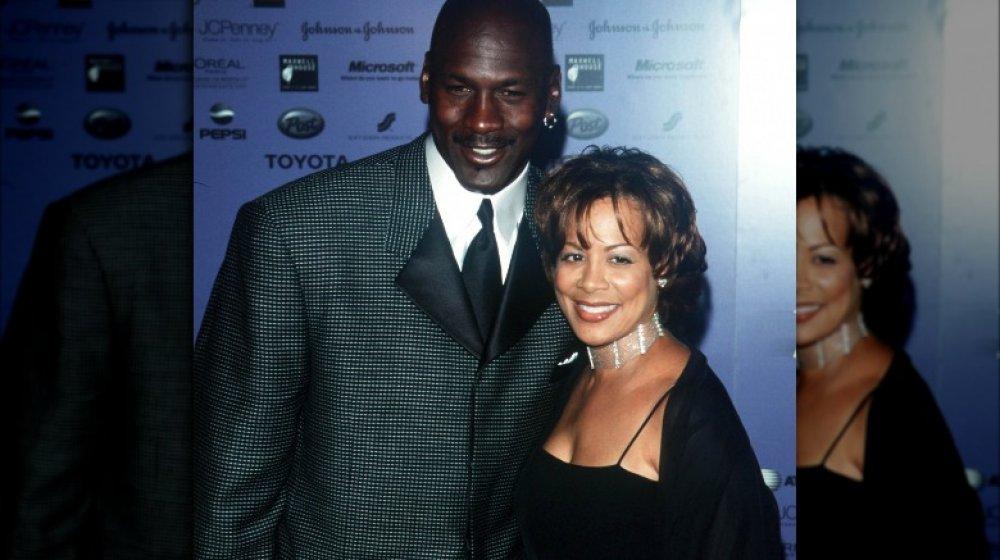 Michael Jordan et Juanita Vanoy