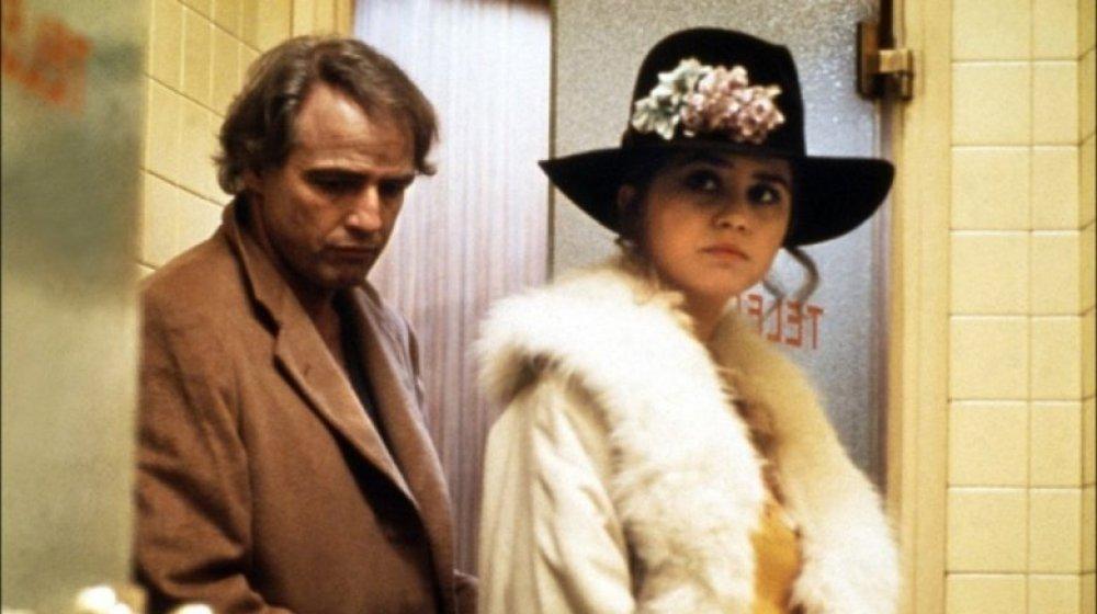 Marlon Brando et Maria Schneider dans Last Tango In Paris