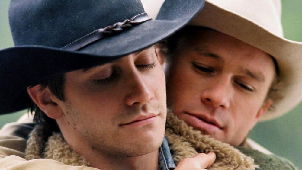 Jake Gyllenhaal et Heath Ledger à Brokeback Mountain