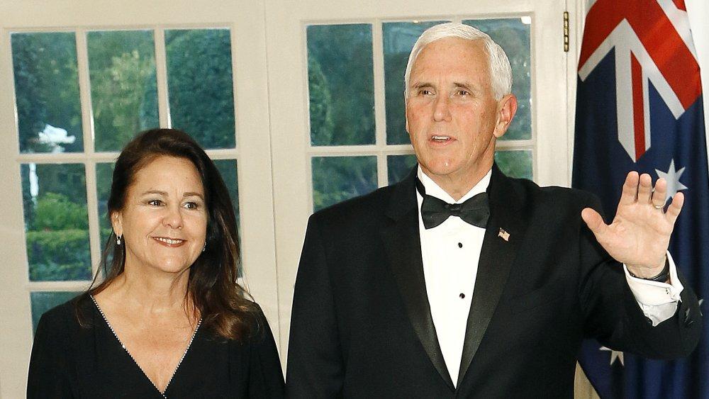 Karen Pence et Mike Pence