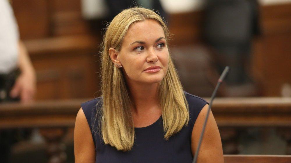 Vanessa Haydon Trump comparaît devant la Cour suprême civile le 26 juillet 2018 à New York.