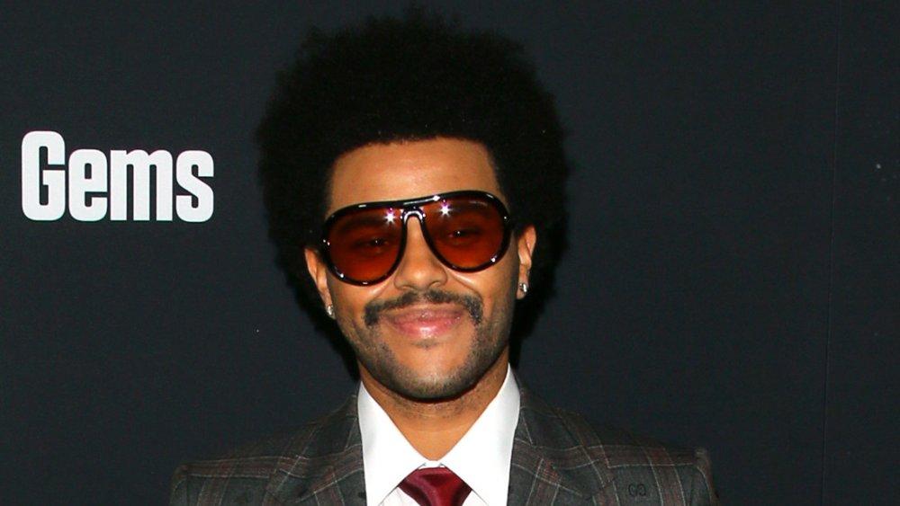 The Weeknd à la première de Uncut Gems